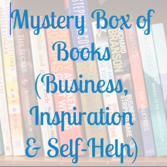 Other - LOT - Mystery Box of Books